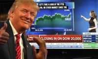 Trump'tan Dow Jones rekoruna tweet'li kutlama