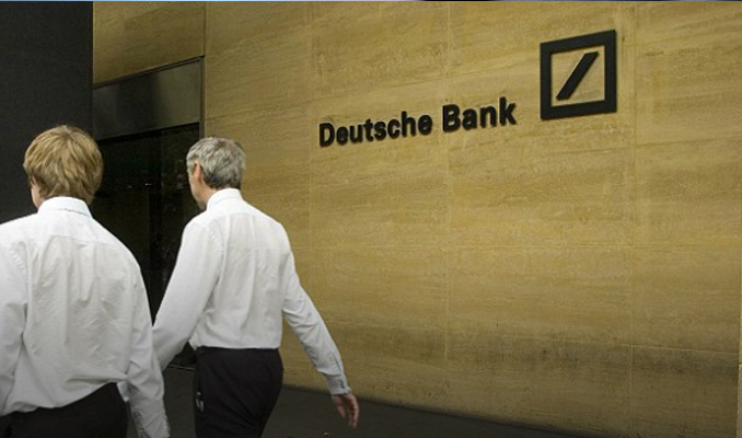 Deutsche Bank'tan 77 milyon euro zarar